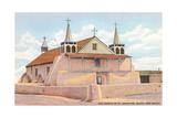 St. Augustine Church, Iselta Pueblo Print