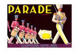 Parade Lemon Label Prints