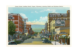 Center Street, Downtown Casper Prints