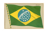 Flag of Brazil Prints