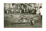 Hindu Firewalking Coals Print
