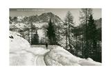 Monte Cristallo, Cortina Posters