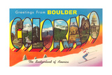 Greetings from Boulder Prints