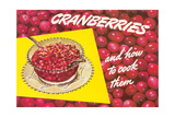 Cranberries and How to Cook Them Prints