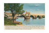 St. Benezet Bridge, Avignon Posters