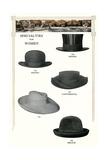 Five Women's Hats Art