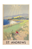 Poster of St. Andrews Golf Course Prints