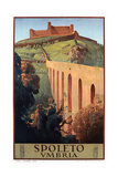 Travel Poster for Spoleto Posters