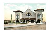 Train Station, San Antonio Prints