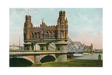 Bridge over the Elbe, Hamburg, Germany Prints