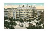 Casa Mila, Barcelona, Spain Poster