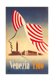Travel Poster for Venice Lido Poster