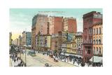 Vintage Main Street, Buffalo Prints