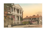 Miles Brewton House, Charleston Prints