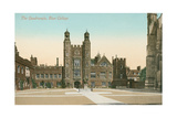 The Quadrangle, Eton College Posters