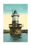 Sperry Lighthouse, New Haven Poster