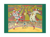 Batger's Circus Clowns Prints