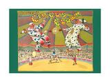 Batger's Circus Clowns Prints