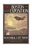 1915 Boston Exposition Poster Poster
