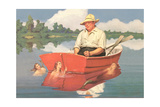 Dreaming Fisherman Prints