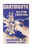Poster for Dartmouth Winter Carnival Plakaty