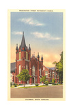 Washington Street Methodist, Columbia Print