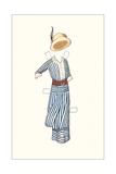 Paper Doll Outfit from 1910s Prints