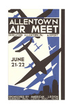 Allentown Air Meet Poster Prints