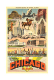 Greetings from Chicago Print