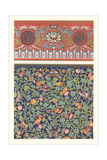 Oriental Floral Patterns Prints