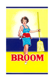 Broom Label, Sexy Housewife Prints