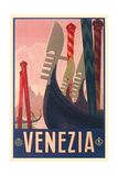 Travel Poster for Venice Prints