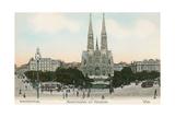 Gothic Cathedral, Vienna, Austria Print