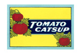 Label for Tomato Catsup Print