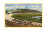 Hollywood Turf Club, Inglewood, California Prints