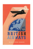 British Airways Travel Poster Prints