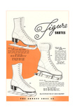 Figure Skates Prints