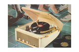Portable Record Player Prints