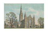 Salisbury Cathedral Print