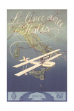 Airplane over Italy Prints