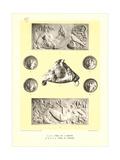 Vera, Martin Et Poisson Bas Reliefs Poster