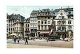 Old Mainz, Germany Kunstdruck