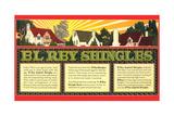 El Rey Shingles Ad Prints