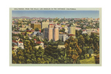 Hollywood from the Hills Prints