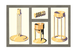 Modern Candle Holders Prints