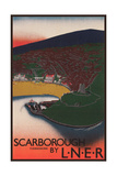Travel Poster for Scarborough, Yorkshire Poster