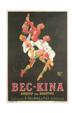 Poster for Bec-Kina Apertif Posters