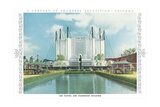 Travel and Transport Building, Chicago World Fair Prints