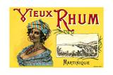 Vieux Rhum, Martinique Posters