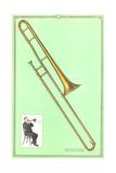 Slide Trombone Prints